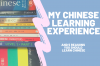 My Chinese learning experience